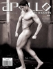 Apollo-Male-Models-Magazine Cover-Mar-June-2015-dariusdarkhan.com-media-press
