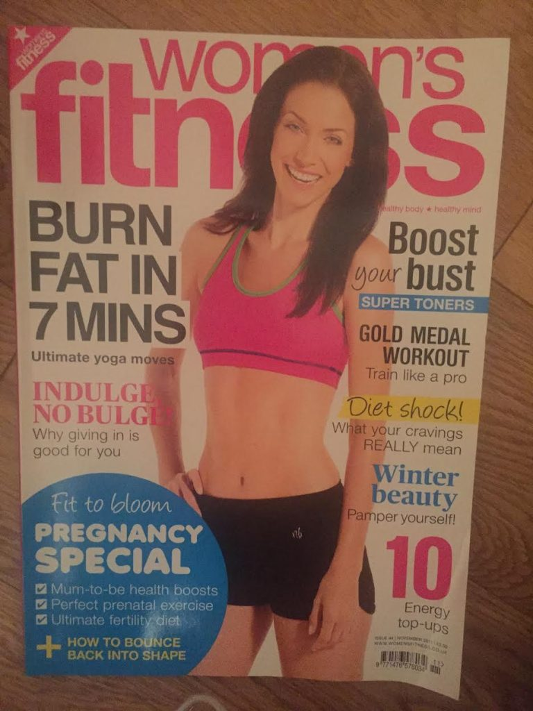 WOMANS FITNESS MAGAZINE EDITION 94 COVER